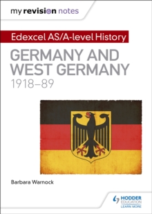 Image for Edexcel AS/A-level history: Germany and West Germany, 1918-89