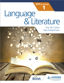 Image for Language and literature for the IB MYP 1