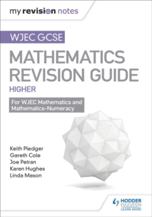 Image for WJEC GCSE mathsHigher,: Mastering mathematics revision guide