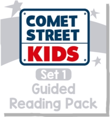 Reading Planet Comet Street Kids - White Set 1 Guided Reading Pack -
