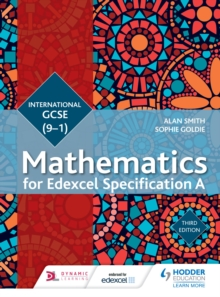 Image for Edexcel International GCSE (9-1) mathematics.: (Student book)