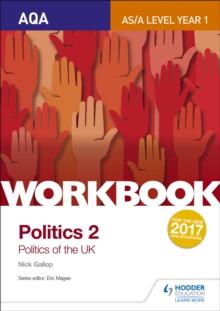 Image for AQA AS/A-level politicsWorkbook 2,: Politics of the UK
