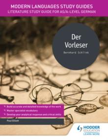Image for Der vorleser.: (Modern languages study guides)