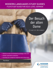 Image for Der besuch der alten dame  : literature study guide for AS/A-level German