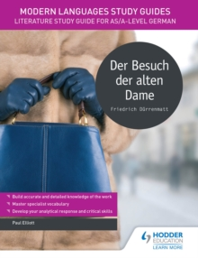 Image for Der besuch der alten dame: literature study guide for AS/A-level German