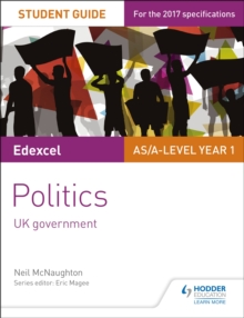Image for Edexcel AS/A-level politicsStudent guide 2,: UK government
