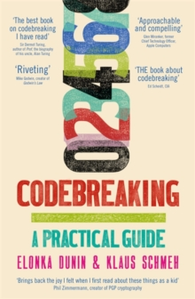 Image for Codebreaking & cryptograms  : a practical guide