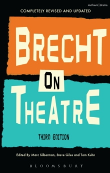 Image for Brecht on theatre