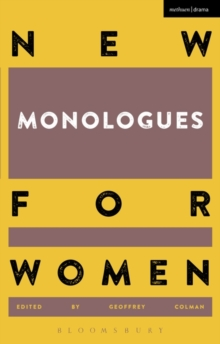 Image for New monologues for womenVolume 1