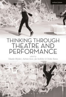 Image for Thinking through theatre and performance