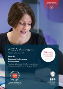 Image for ACCA paper P5, advanced performance management: Practice & revision kit