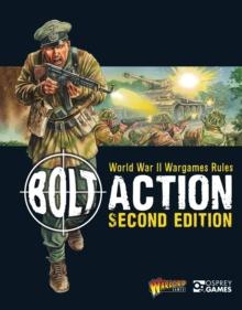 Image for Bolt action  : World War II wargames rules