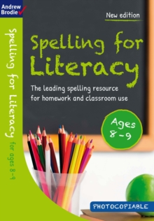 Image for Spelling for Literacy for ages 8-9