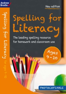 Image for Spelling for Literacy for ages 9-10