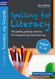 Image for Spelling for Literacy for ages 7-8