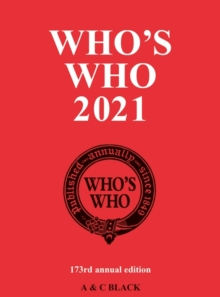 Image for Who's who 2021  : an annual biographical dictionary