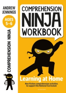 Comprehension ninja workbook for ages 5-6 - Jennings, Andrew