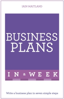 Image for Business plans in a week