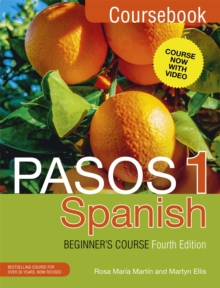 Image for Pasos 1  : Spanish: Coursebook