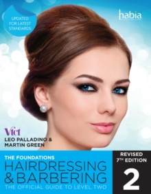 Image for Hairdressing and barbering  : the foundations