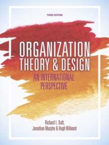 Image for Organization theory & design  : an international perspective