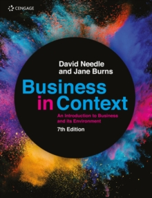 Image for Business in context  : an introduction to business and its environment