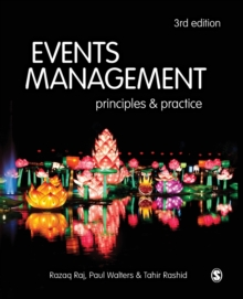 Image for Events management  : principles & practice