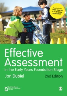 Image for Effective assessment in the early years foundation stage