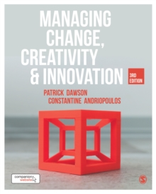 Image for Managing change, creativity & innovation