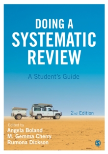 Doing a systematic review  : a student's guide - Boland, Angela