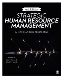 Image for Strategic human resource management  : an international perspective