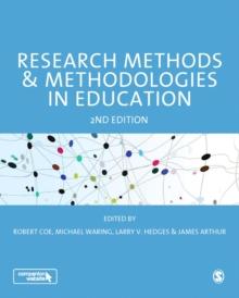 Image for Research methods & methodologies in education