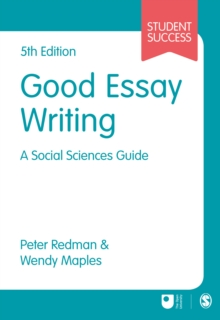 Image for Good essay writing  : a social sciences guide