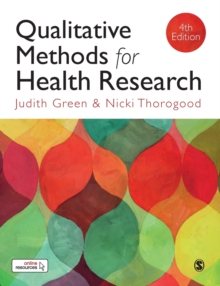 Image for Qualitative methods for health research
