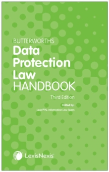 Image for Butterworths Data Protection Law Handbook