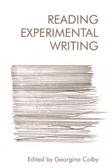 Image for Reading experimental writing