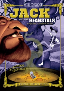 Image for Jack and the beanstalk  : an interactive fairy tale adventure