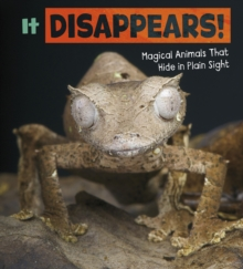 Image for It disappears!  : magical animals that hide in plain sight