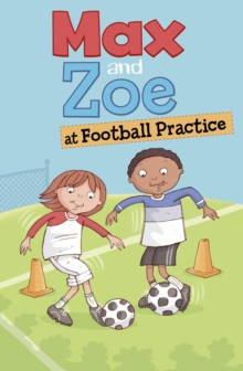 Image for Max and Zoe at football practice
