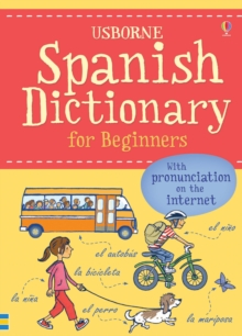 Image for Usborne Spanish dictionary for beginners