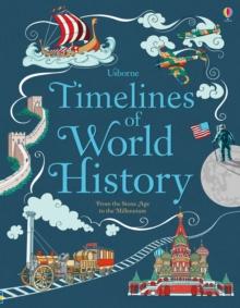 Image for Usborne timelines of world history