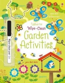 Image for Wipe-Clean Garden Activities