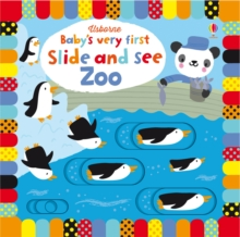 Image for Usborne baby's very first slide and see zoo