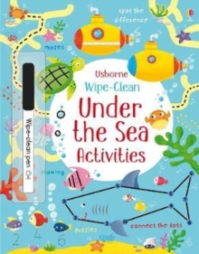 Image for Wipe-clean Under the Sea Activities