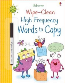 Image for Wipe-Clean High-Frequency Words to Copy