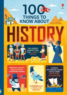 Image for 100 things to know about history