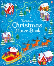 Image for Christmas Maze Book