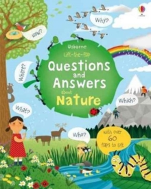 Image for Usborne lift-the-flap questions and answers about nature  : with over 60 flaps to lift