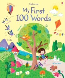 Image for Usborne my first 100 words