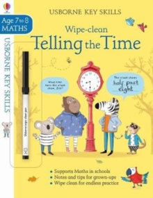 Image for Wipe-clean Telling the Time 7-8